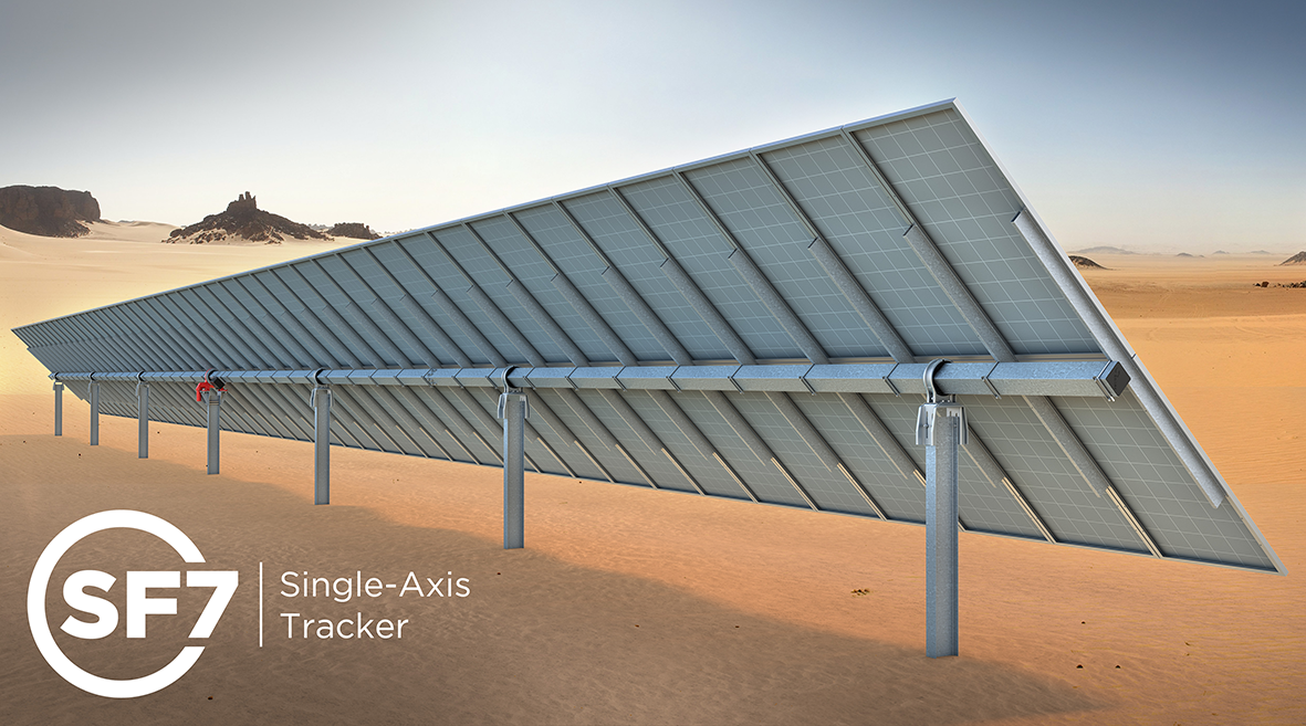 Soltec SF7 Tracker - single axis solar tracker - Soltec