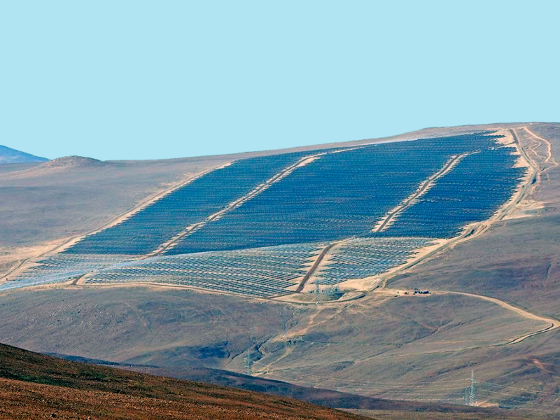 Soltec PV Plant in Chile