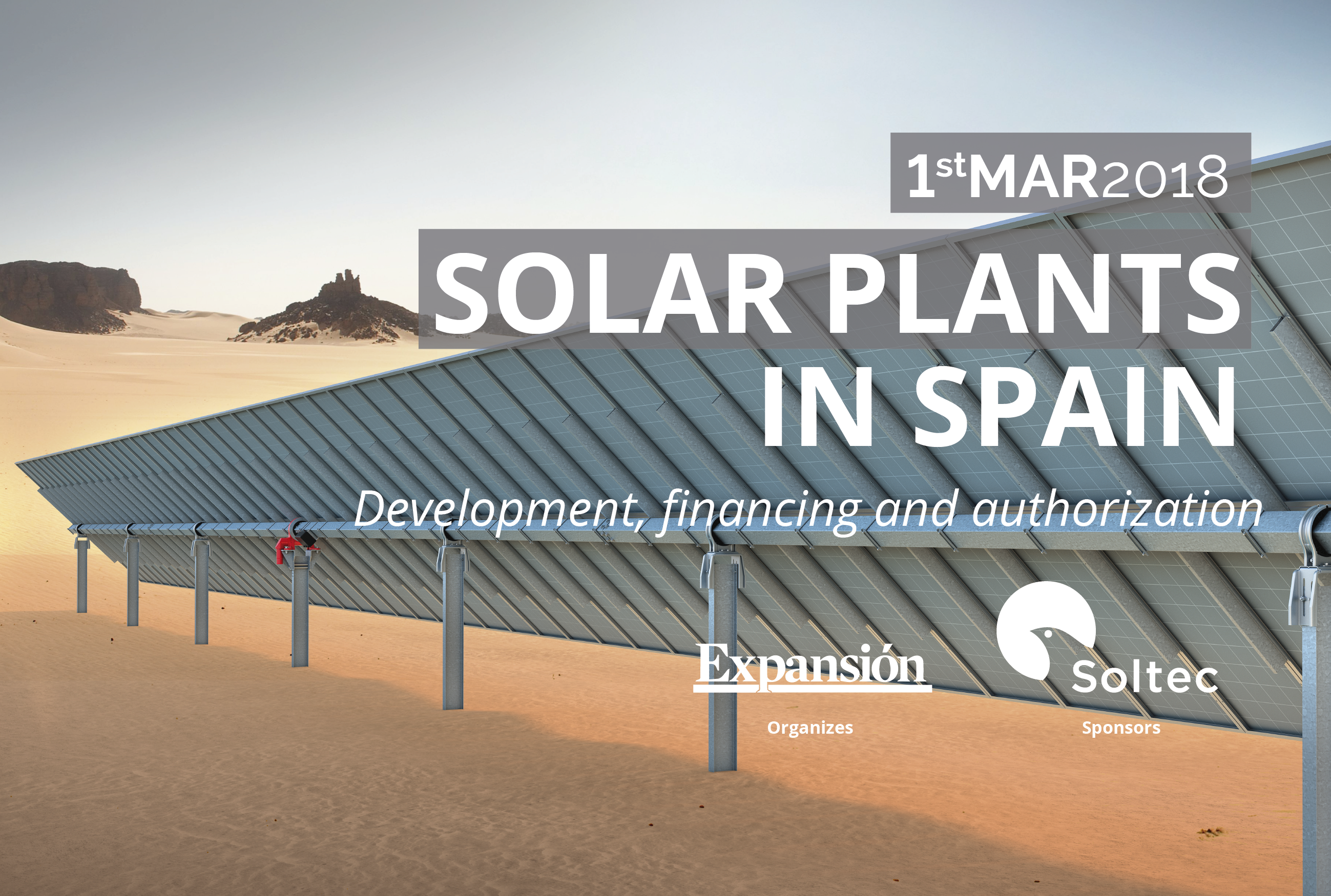 Soltec sponsors 'Solar Plants in Spain' congress