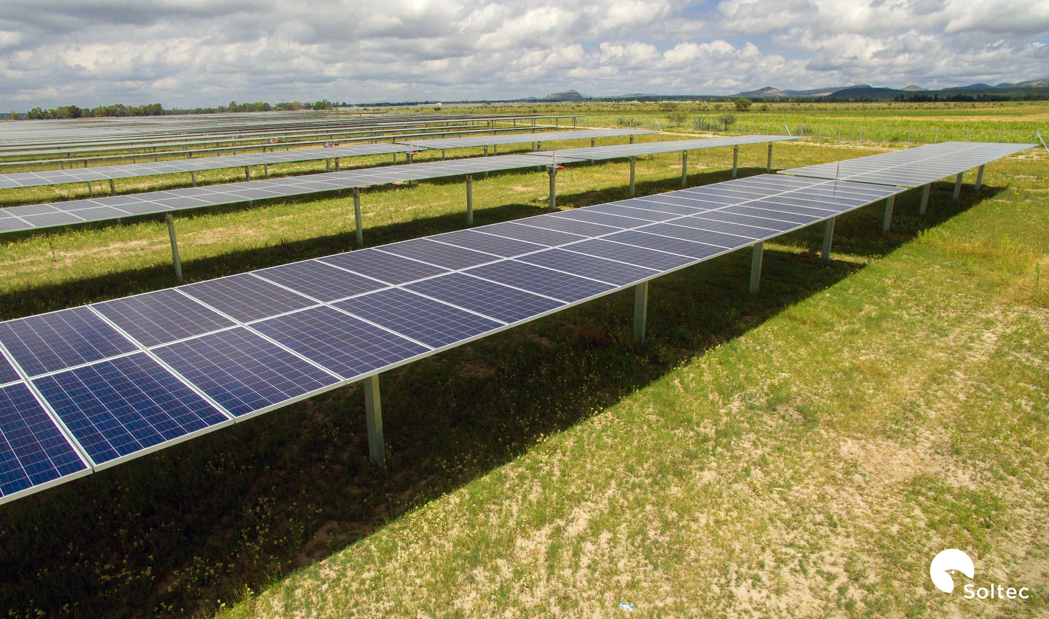 Soltec's PV Plant with SF7 Single-Axis Trackers