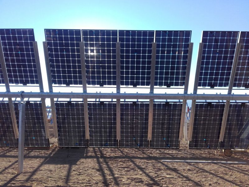 Soltec Supplies Bifacial Modules Solar Trackers to a PV Project in Israel - Soltec Solar Trackers