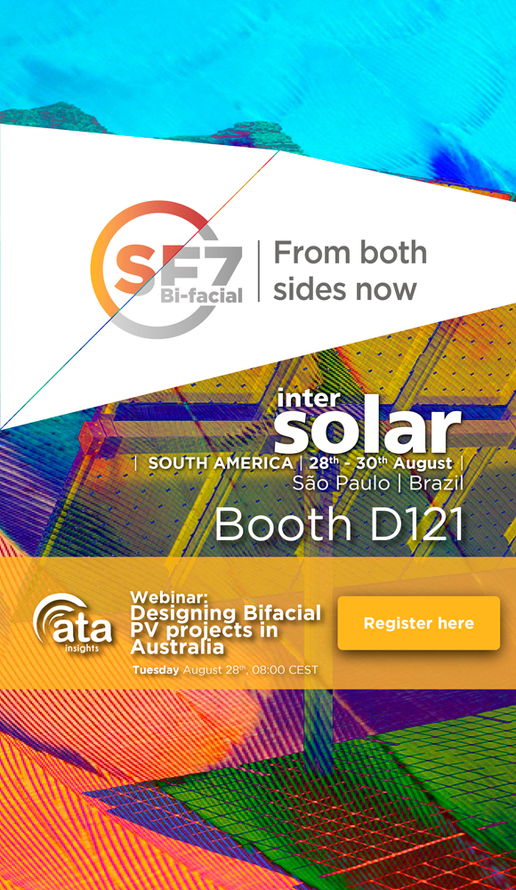 Soltec at Intersolar South America and bifacial webinar for Australia